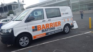 Barrier Matting Van at ASB Showgrounds